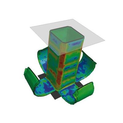 LS-DYNA Kompakt: Simulation of fiber-reinforced plastics